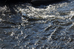 Fast flowing river Stock Photography