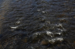 Fast flowing river Stock Image
