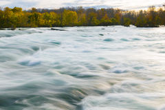 Fast Flowing River Royalty Free Stock Images