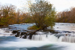 Fast flowing stream Royalty Free Stock Photo