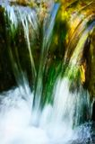 Fast flowing water Stock Image