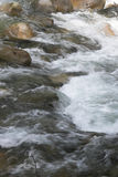 Fast Flowing water - Lynn Canyon, North Vancouver Stock Image