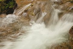 Fast flowing water Stock Photography