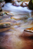 Fast flowing water in the mountain Stock Photography