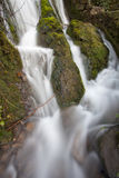Fast Flowing waterfall Stock Image