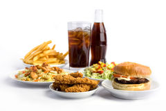 Fast food Stock Photo