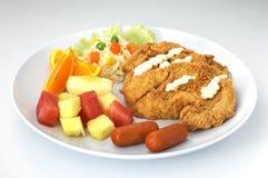 Fast food imagem de stock