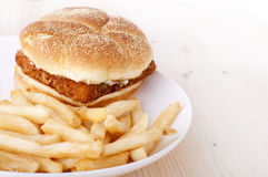 Fast food Foto de Stock