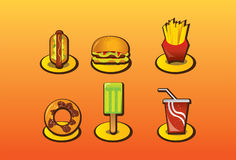 Fast Food Royalty Free Stock Photography