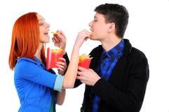 Fast food Imagem de Stock Royalty Free