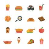Fast food ilustracja wektor