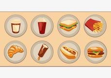 Fast food Zdjęcia Stock