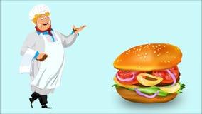 Fast food vídeos de arquivo