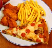 Fast food Fotos de Stock Royalty Free