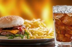 fast food Fotografia Stock