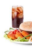 fast food Fotografia Stock
