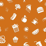 Fast food background Stock Photo