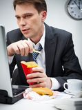 Fast food break Stock Photo