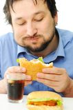 Fast food, burger Stock Photography