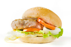 Fast food burger Royalty Free Stock Photos
