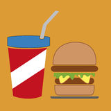 Fast food Royalty Free Stock Images