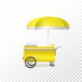 Fast food cart, street shop. Stock Photography
