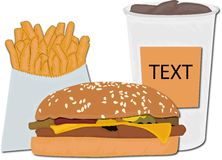 FAST FOOD Royalty Free Stock Photo