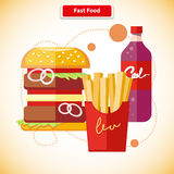 Fast Food Concept Stock Photo