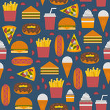 Fast food concept Royalty Free Stock Photography