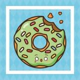Fast food de Kawaii ilustração do vetor