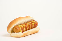 Fast food delicious hot dog stock images