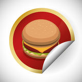 Fast Food design Royalty Free Stock Photo