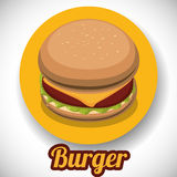 Fast Food design Royalty Free Stock Images
