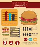 Fast food design Stock Photo