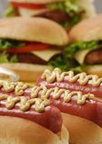 Fast food detail. Royalty Free Stock Photography