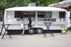 Fast food do falafel de Alemanha Fotos de Stock Royalty Free