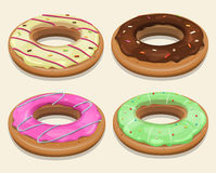 Fast Food Donuts Royalty Free Stock Photography