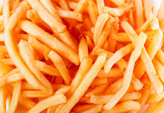 Fast food. French fries potatoes Stock Image