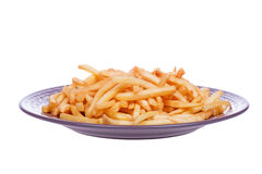 Fast food. French fries potatoes Royalty Free Stock Photo