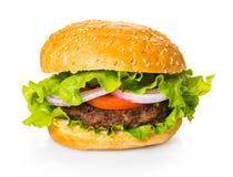 Fast food, fresh burger royalty free stock photography