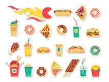 Fast food gra 2 Obrazy Stock