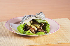 Fast food gyros Royalty Free Stock Photo
