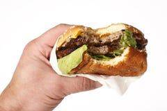 Fast food hamburger Royalty Free Stock Image