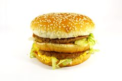 Fast Food Hamburger Meal stock photography