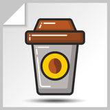 Fast food icons_7 Imagens de Stock Royalty Free