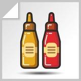 Fast food icons_9 Fotografia de Stock Royalty Free