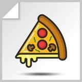 Fast food icons_8 Imagens de Stock