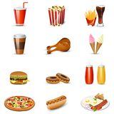 Fast Food item. Easy to edit vector illustration of fast food item stock illustration