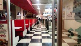 Fast food limpo fotografia de stock