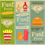Fast Food Menu Stock Images